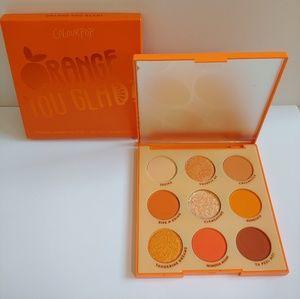 Colourpop Orange You Glad Eyeshadow Palette